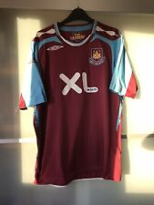 West Ham United Home Shirt 2007/08 - Size Large