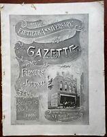 Baldwinsville New York 1896 Gazette & Farmer's special 50th issue w/ city pics
