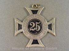 """Kriegerverein Auszeichnung """"Für Treue Mitgliedschaft 25"""", silbernes Kreuz, 69711"""