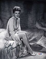 ANGELA LANSBURY Signed 8x10 Photo  PSA/DNA#:AA26115