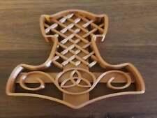 Mjolnir Thor's Hammer Cookie Pâtisserie Biscuit Cutter Icing Fondant Pâtisserie Cuisine