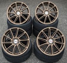 18 Zoll Motec Aventus MCT11 Alu Felgen 5x120 et30 bronze gold Gutachten BMW M
