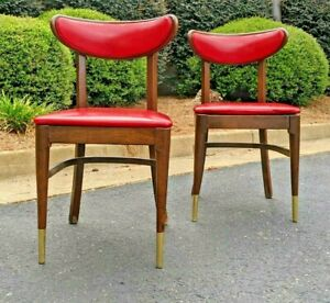 (2) Vintage MCM Shelby Williams(?) Chairs Johnson Hadley Johnson