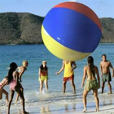 150cm Giant Inflatable Beach Ball Large Three-Color Thickened PVC