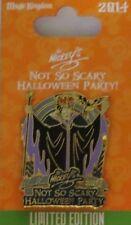 DISNEY WDW MICKEY'S NOT SO SCARY HALLOWEEN 2014 MALEFICENT & DIABLO LE 5000 PIN