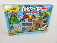 Angry Birds Mega Fling Game Complete in Box Electronic Launcher Rovio Mattel