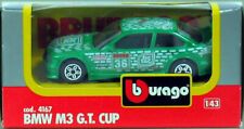 Bmw M3 e36 GT Cup Tic Tac 1/43 Burago 4167 Neuf Boite made in Italy