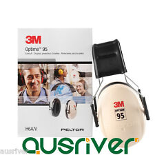 New 3M PELTOR H6A Adjustable Over-the-Head Earmuffs Hearing Protection NRR 21dB