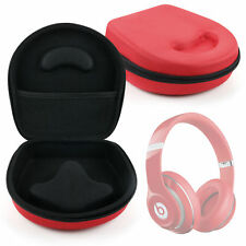 Hard EVA Storage Case (Red) For Beats by Dr. Dre Solo HD, Solo 2/SOLO2 & Solo