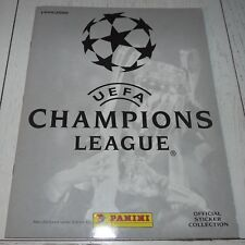 ALBUM VIERGE PANINI CHAMPIONS LEAGUE 1999-2000 FOOTBALL EMPTY LEER VUOTO NEUF