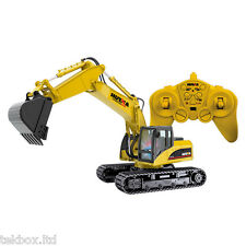 Radio Controlled RC 15CH Digger Excavator Load Truck Construction Toy 1:14 Scale