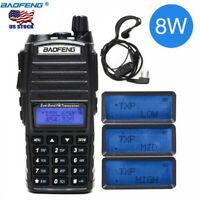 Baofeng UV-82 8W Two Way Radio Walkie Talkie Dual Band VHF UHF Portable Radio US