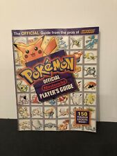 Pokemon Official Nintendo Player's Guide - ALL 150 Stickers Intact