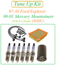 Tune Up for 97-01 Mercury Mountaineer Explorer 4.0 v6 Spark Plug WireSet Air Oil