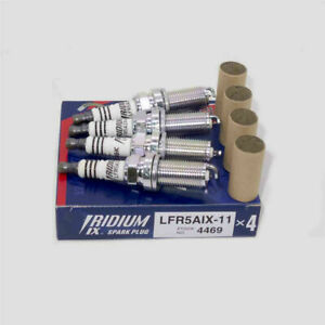 4X OEM NEW NGK LFR5AIX-11 Iridium IX Spark Plugs 4469 For Nissan Infiniti  Dodge