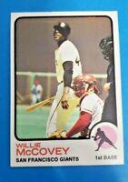 1973 Topps Baseball Willie McCovey #190 Ex-MT+  HOF Giants