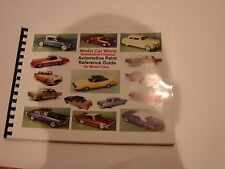 Model Car World Automotive finishes reference guide for model cars