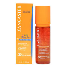 Lancaster Sun Beauty Satin Sheen Oil Fast Tan Optimizer Spf30 150ml New In Box