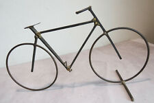 A Lovely, Evocative, Hand-Made Bicycle-Study-Themed Minimalist Sculpture