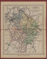 Warwick.  1898.  Map.  George Philip  L.542a
