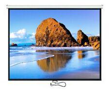 "Projectiescherm 100"" 4:3 200x150 Maclean MC-594 auto-lock Muur plafond scherm"