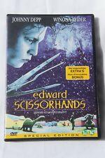 EDWARD SCISSORHANDS Special Edition Bonus Johnny Depp Winona Ryder Tim Burton