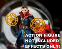 Dr Strange Orange Spell Shields (Set of 2) EFFECT ONLY Marvel Legends, 1/12