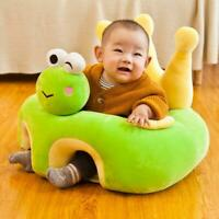 Baby Learning Sitting Seat Sofa Cover Cartoon Case Plush Support Chair Toys