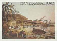 Timbre Bateaux Barbuda BF79 ** lot 11882
