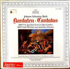 ARCHIV JS Bach RICHTER Canatas #51 & #202 SHRINK SAPM 198 027 NM/NM