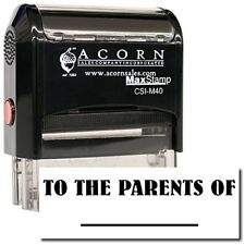 MaxStamp - Self-Inking To The Parents Of Stamp (Black Ink)