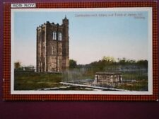 POSTCARD STIRLINGSHIRE STIRLING - CAMBUSKENNETH ABBEY & TOMB OF JAMES III