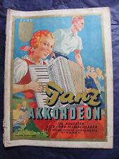 Partition Tanz Akkordeon Band 4 Lied und Filmschlager Music Sheet
