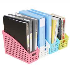 Magazine File Folder Holder Storage Organizer Box Office Paper Mail Quantity 4