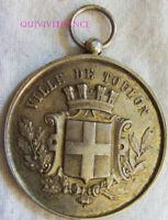 MED7368 - MEDAILLE TOULON FESTIVAL DE 1892 PONT DU LAS en Argent