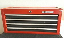 Vintage 1990s Craftsman 4 Drawer Middle Tool Box Mid Intermediate Chest Usa