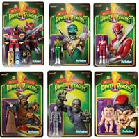 Super7 Mighty Morphin Power Rangers ReAction Figures - Wave 1