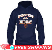 Bears Monsters Of The Midway Sweatshirt Hoodie Chicago Bears Vintage