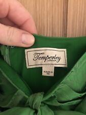 Temperley London Emerald Green Evening Gown/ball/wedding. Uk14. Designer.