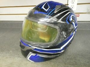 New ZOX Pledge Modular helmet snowmobile Blue new with tags XL in stock