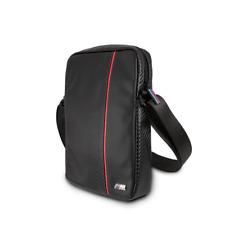 """BMW M Sport Carbon Carry Bag for Tablet 9""""/10"""" Designer Strap bag Black/Red"""