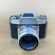 Exa II Vintage 35mm SLR Film Camera W/ Biotar 58mm F2, NICE