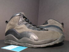 fc3da5360b400d 1995 ORIGINAL Nike Air Jordan X 10 BLACK SHADOW GREY TRUE RED 130209-001 11