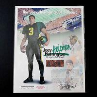 University of Oregon Ducks Joey Harrington '01 Heisman Trophy Billboard Football