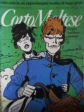 Corto Maltese 6 1988 - La storia immortale di Guido Crepax - Baciliero [G.142]