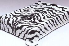 Solaron Korean Blanket Thick Mink Plush twin/full size throw Zebra Licensed new