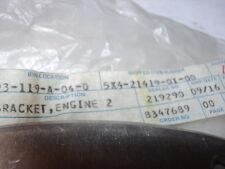 1982 YAMAHA YZ125 YZ 125 MOTOR MOUNT BRACKET ENGINE 2 NOS OEM #  5X4-21419-01