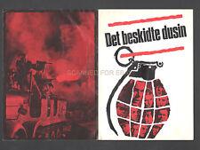 THE DIRTY DOZEN RARE ORIG SWEDISH MOVIE PROGRAM