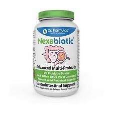 Nexabiotic 23 Probiotics with Doctor Recommended L Acidophilus ... Free Shipping
