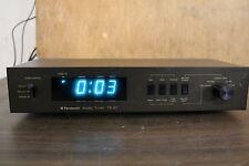 Technics National Panasonic TE 97 Audio Timer Tested Working Mint Japan Rare